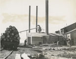 Southwest Lumber Company mill, Alamogordo, New Mexico