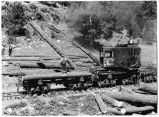 Loading logs at Southwest Lumber Company, Lincoln National Forest near Alamogordo, New Mexico