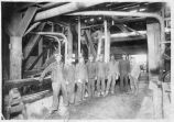 Interior of Gross Kelly and Company planing mill, Santa Fe, New Mexico